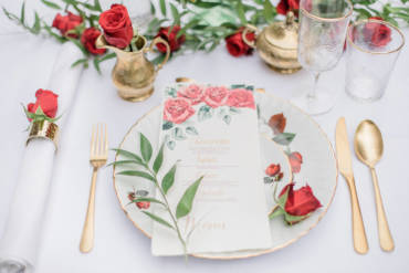 Styled Shoot Romantic Red