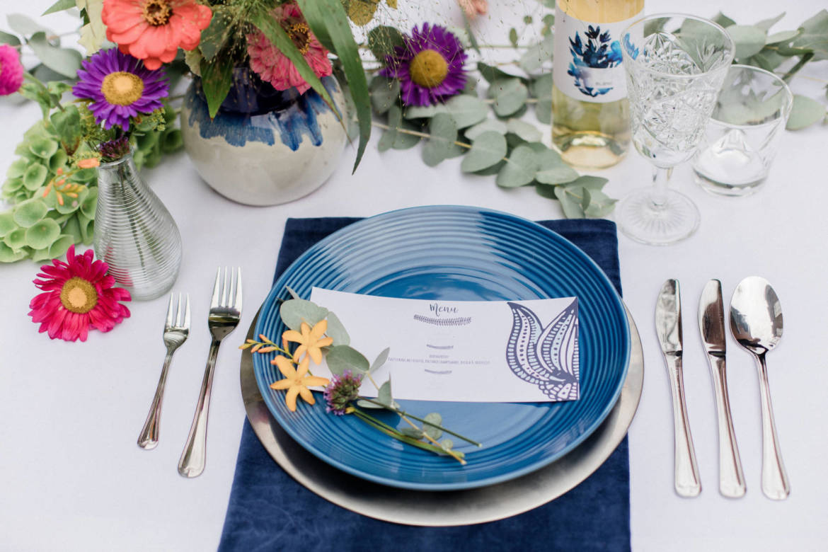 Styled Shoot Something Blue