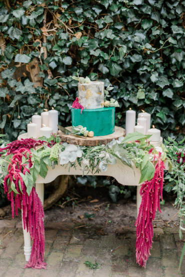 Styled Shoot Cake Table